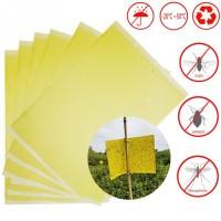 Dzeltenas līmlapiņas kukaiņu izķeršanai (1 gab) 25x40cm