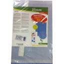 Līmpapīrs siltumnīcu augu insektiem zils 40x25cm 20gab