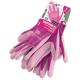Cimdi ar poliuretāna pārklājumu, rozā 6 izmērs