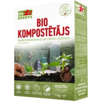 Biokompostētājs 1kg (mitrais)