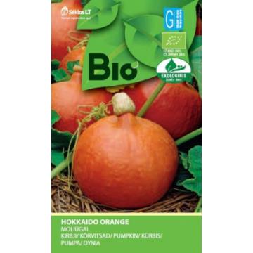 Ķirbji Hokkaido Orange (Bio)