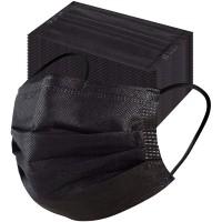 Sejas maskas 3-kārtu 5gb Melnas