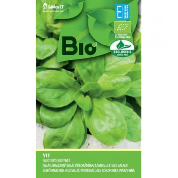 Salātu baldriņi VIT (BIO sēklas) 1g