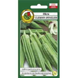Hibisks (Okra) Clemson Spineless 2g