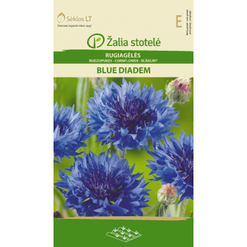 Rudzupuķes Blue Diadem
