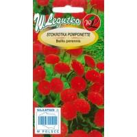 *Mārpuķītes Pomponette (Sarkanas) 0,1g