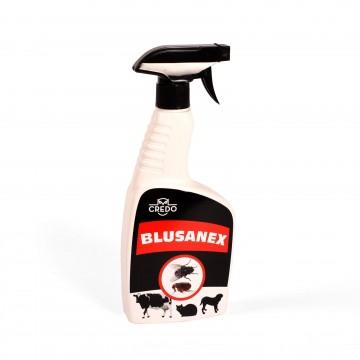 BLUSANEX izsmidzināms līdzeklis blusu u.c. kukaiņu iznīcināšanai dzīvnieku guļvietās 500ml