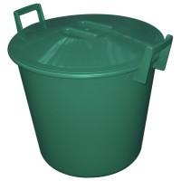 Konteiners apaļš 40L zaļš